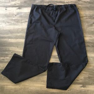 Fundamentals Black Scrub Pants